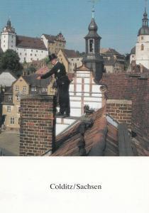 Colditz German Prison POW Holocaust Camp Sachsen Kohler 5x Austria Postcard s