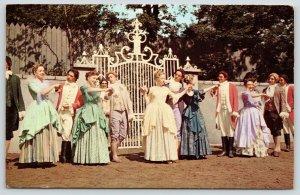 Boone NC~Daniel Boone Outdoor Theatre~Kermit Hunter Horn in the West~1973
