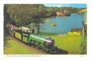 Miniature Train  Scarborough , Uk , PU-1971