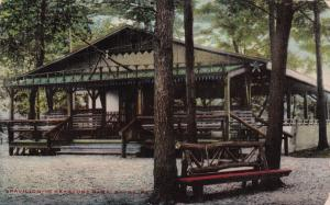 SAYRE , Pennsylvania, 1900-1910s ; Pavillion at Keystone Park