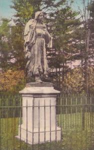 Mary Jamison Monument Letchworth State Park P O Castile New York Handcolored ...