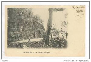 kONAKRY, Guinea, La Route du Niger PU-1904