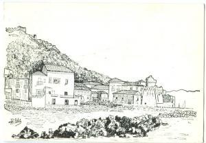 Italy, S. Maria di Castellabate, 1989 used Postcard