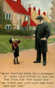 Humor - What, fighting again? (Parish Priest)