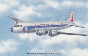 EASTERN Airlines Airplane , 1950s