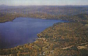 New Hampshire Spofford Aerial View Lake Spofford