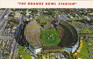 Florida Miami The Orange Bowl Stadium