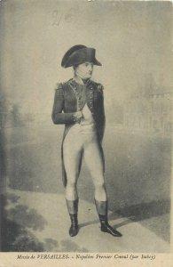 Postcard French military leader Napoleon Bonaparte musee de Versailles