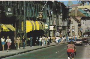 Rue Sait-Louis, VILLE DE QUEBEC, Quebec, Canada, PU-1987