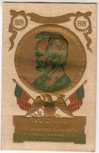 In Memory of Lincoln Centennial Anniversary 1909