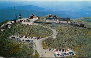New Hampshire White Mountains Mt Washington Summit House Hotel 1967