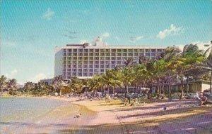 Hawaii Beautiful Sunny Beach At The Caribe Hilton Hotel San Juan