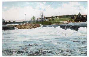Brunswick, Maine, Lower Falls, Androscoggin River