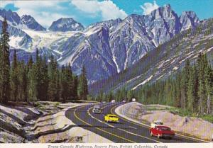 Canada British Columbia Trans Canada Highway Rogers Pass