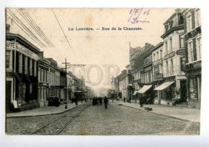 158205 Belgium LA LOUVIERE rue de la Chaussee SIGNBOARDS OLD
