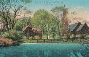 MILFORD , Connecticut , PU-1911 ; St. Peter's P.E. Church and Rectory