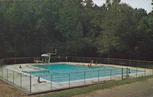 Swimming Pool At Camp Glisson, Dahlonega, Georgia, 1940-1960s