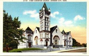 Tennessee Johnson City First Christian Church
