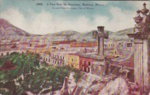 Mexico Monterrey General View Over The Housetops 1908