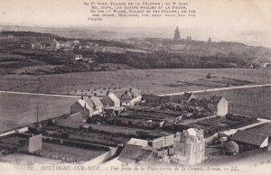 MONTREUIL SUR MER, Pas De Calais, France, 1900-1910s; Vue Prise De La Plate-F...