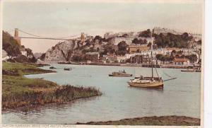 Sailboat/Boats, Clifton Suspension Bridge From Ashton Meadows, North Somerset...