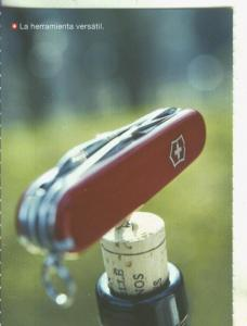 Postal 5641 : Propaganda de Suiza: la herramienta versatil