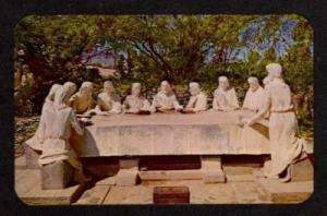 AZ  The Last Supper TUCSON ARIZONA Religious Postcard