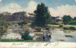 USA Lily Pond in Humboldt Park Chicago 03.76