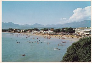 Van Riebeeck Hotel Gordons Bay Beach South Africa Postcard