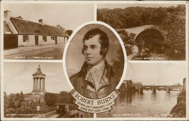 Robert Burns Ayr Ayrshire UK