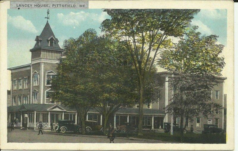 Pittsfield, Maine, Lancey House