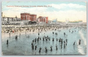 Atlantic City New Jersey~Circle of Swimmers~Sun-Ray Drugstore~Chalfonte~c1914