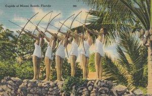 MIAMI BEACH , Florida , 1930-40s CUPIDS