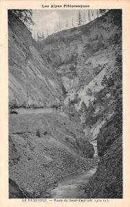 Switzerland Old Vintage Antique Post Card La Reyssole, Les Alpes Pittoresques...