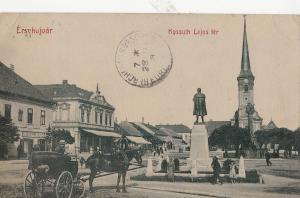 B78986 ersekujvar kossuth lejos ter chariot slovakia  front/back image