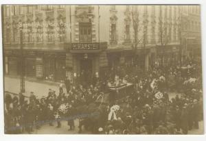 German 1918 Wilhelmshaven Revolution Freikorps Spartakist Burials RPPC 51945