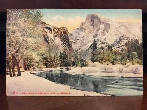 Half Dome, Yosemite Valley, California in Winter C3