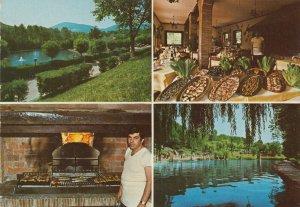 TIVOLI, Italy, 1950-60s; Four views