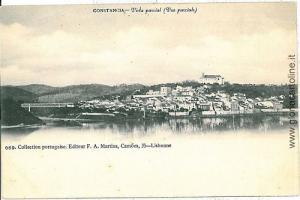 VINTAGE POSTCARD PORTUGAL  - Constância Constancia