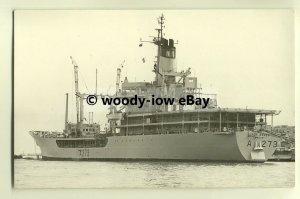na1989 - Royal Navy Tanker - RFA Black Rover - photograph