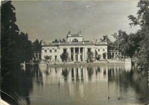 Postcard Poland Warsaw Lazienki palace