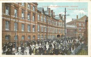 Reading~Huntley Palmers Biscuit Factory~Kings Road~Workers~Now Demolished~1920s