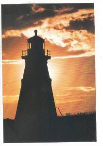 LIGHTHOUSE , Campobello , New Brunswick , Canada , 50-70s