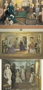 Bath Museum Of Costume 3x Victorian Fashion Postcard s