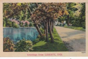 Indiana Greetings From Liberty