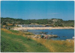 BORNHOLM, Sandvig Strand, Ostersobadet, Denmark, 1991 used Postcard