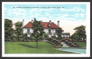Indiana, South Bend - Clement Studebaker's Residence - [IN-010]