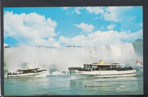 America Postcard - Maid of The Mist in Front of The American Falls  HM30