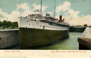 MI - Sault Ste Marie. SS Juniata