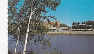Parc Brunet et la Riviere Harricana, Amos, Quebec, Canada, PU-1986